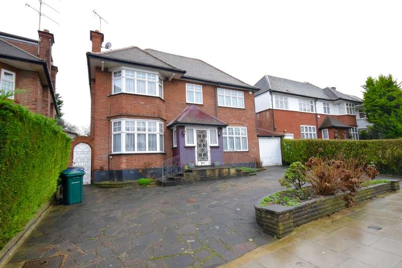 5 Bedrooms Detached House for sale in PRINCES PARK AVENUE, GOLDERS GREEN, LONDON, NW11