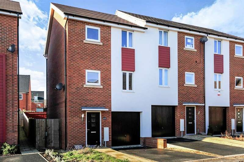 3 Bedrooms End Of Terrace House for sale in Lares Avenue, PETERBOROUGH, PE2