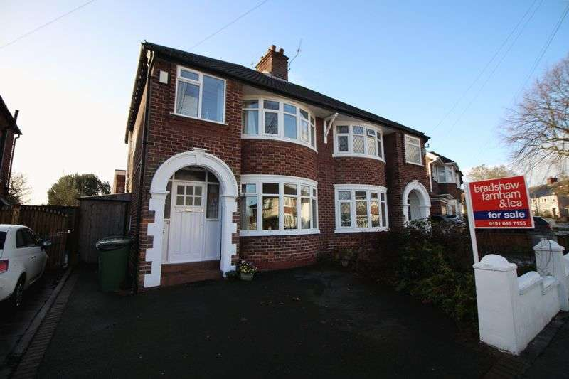3 Bedrooms Semi Detached House for sale in Gorseyville Road, Bebington
