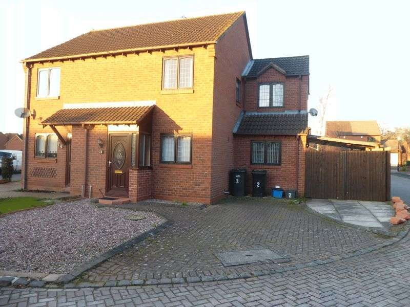 2 Bedrooms Property for sale in 2 Jellicoe Crescent, Shifnal