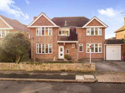 4 Bedrooms Detached House for sale in Parkside Gardens, Wollaton, Nottingham, Nottinghamshire