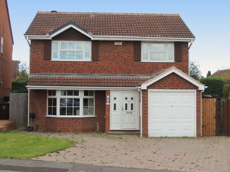 4 Bedrooms Detached House for sale in Culverley Crescent, Knowle, Solihull