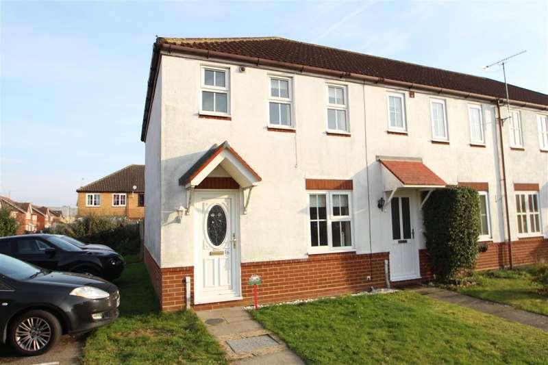 2 Bedrooms End Of Terrace House for sale in Banyard Close, Grange Farm, Kesgrave, Ipswich