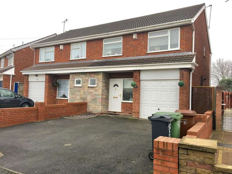 3 Bedrooms Semi Detached House for sale in Broadwaters Road, Wednesbury, WS10
