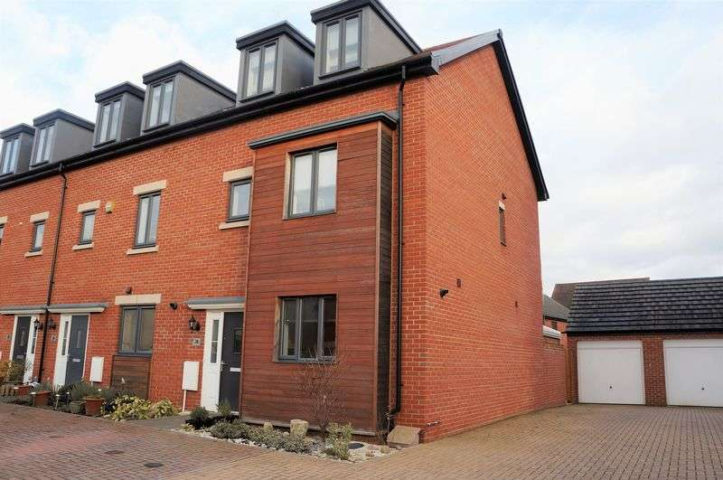 4 Bedrooms Terraced House for sale in Sapphire Way, Gloucester