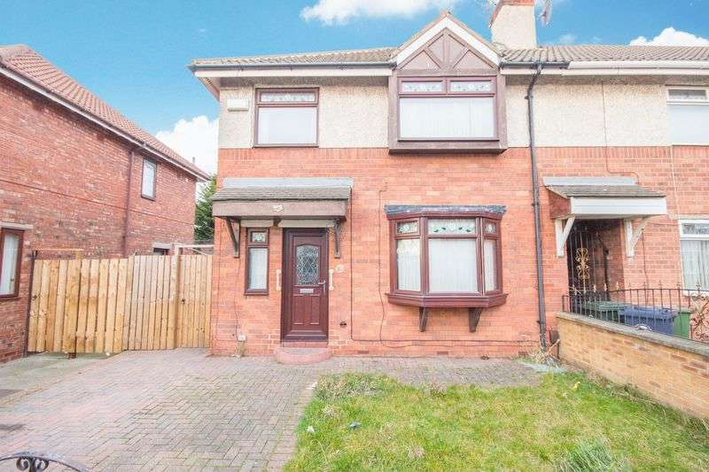 3 Bedrooms Semi Detached House for sale in Arundel Road, Grangetown, Middlesbrough, TS6 7QZ