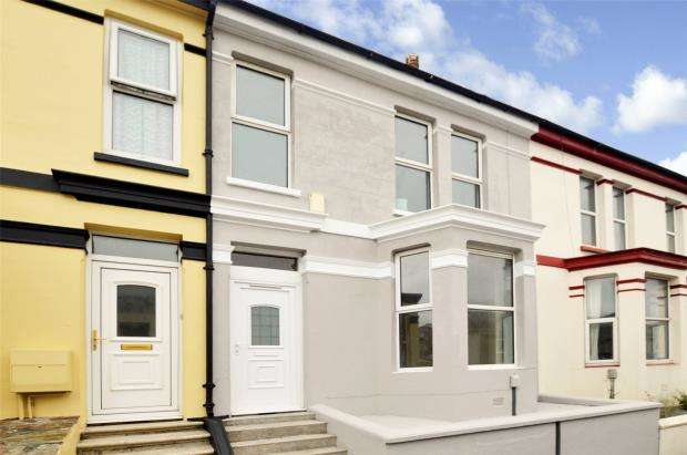 3 Bedrooms Terraced House for sale in Maida Vale Terrace, Plymouth, Devon