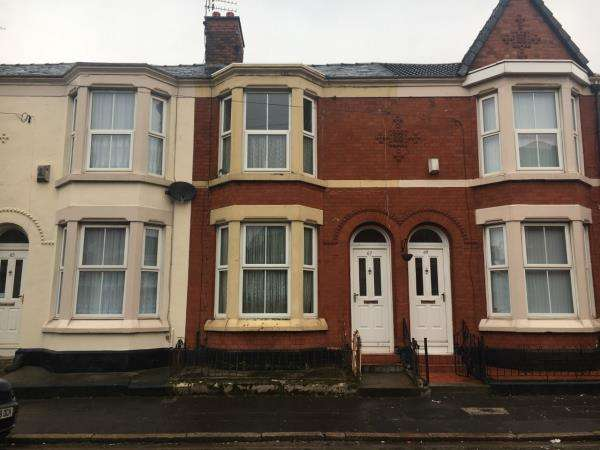 2 Bedrooms Terraced House for sale in 67 GUELPH STREET, KENSINGTON, LIVERPOOL