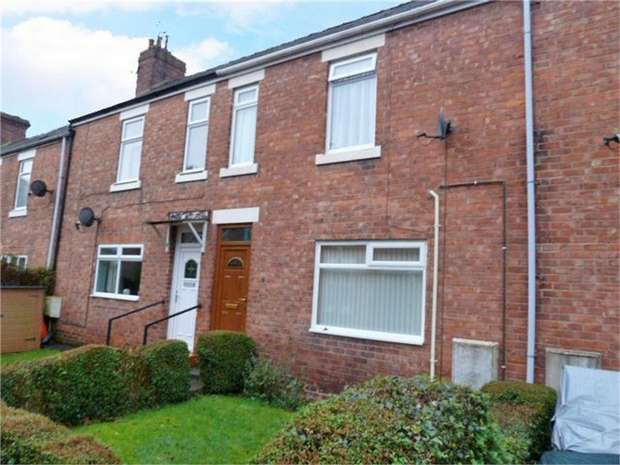 2 Bedrooms Terraced House for sale in Pretoria Avenue, Morpeth, Northumberland