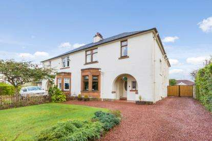 4 Bedrooms Semi Detached House for sale in Milverton Road, Lower Whitecraigs, East Renfrewshire