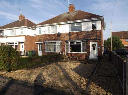 3 Bedrooms Semi Detached House for sale in Asquith Street, Mansfield, Nottinghamshire