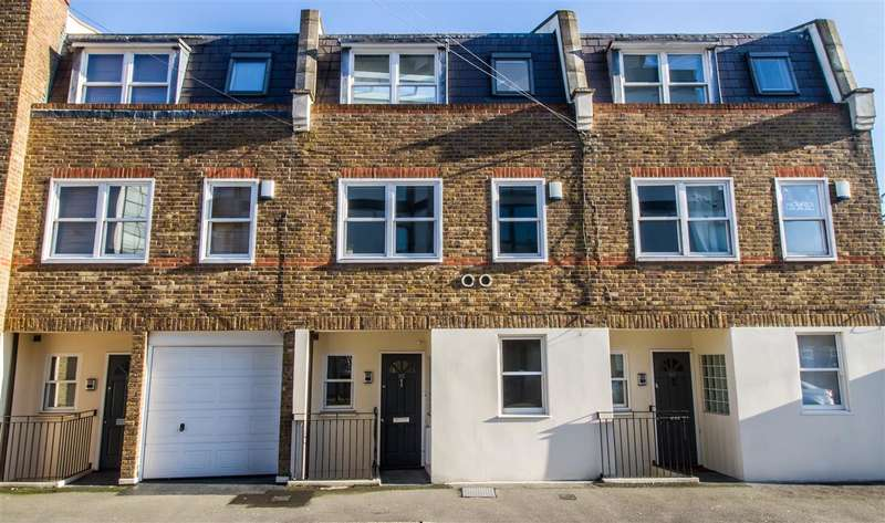4 Bedrooms Town House for sale in The Crescent, Wimbledon Park