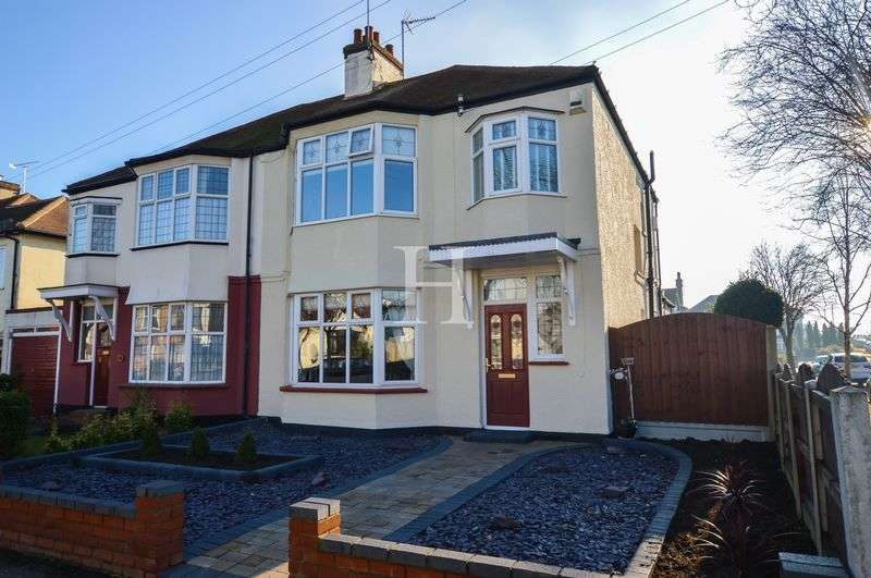 3 Bedrooms Semi Detached House for sale in Western Road, Leigh-On-Sea, Essex, SS9
