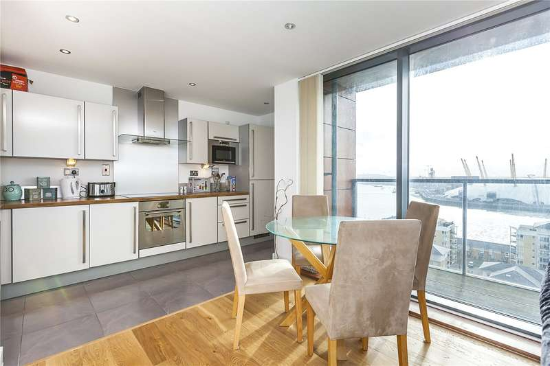 2 Bedrooms Flat for sale in Neutron Tower, 6 Blackwall Way, London, E14