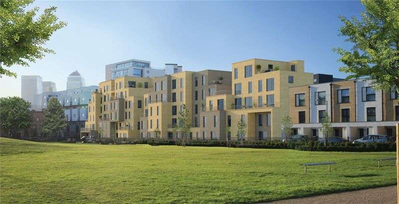2 Bedrooms Flat for sale in Parkside, Bow, E3