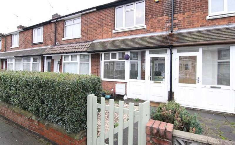 2 Bedrooms Terraced House for sale in Alder Road, Coventry, West Midlands, CV6