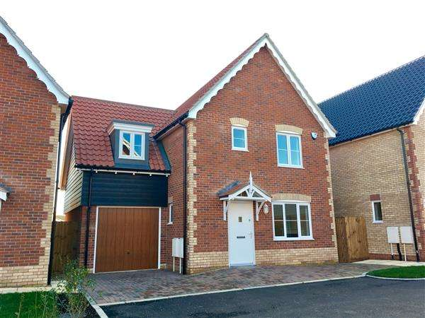 4 Bedrooms Detached House for sale in Plot F, Angel Place Bramford, Ipswich