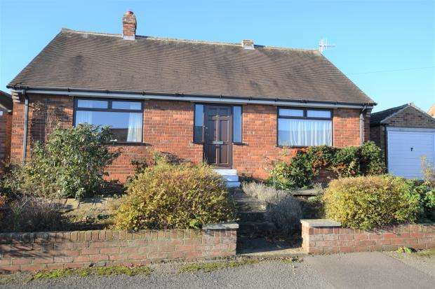 2 Bedrooms Detached Bungalow for sale in Brierly Road, Crossgates, Scarborough, North Yorkshire YO12 4JS
