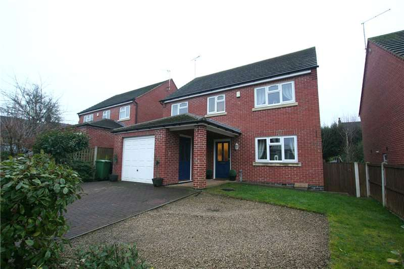 4 Bedrooms Detached House for sale in Raven Court, Heanor, Derbyshire, DE75