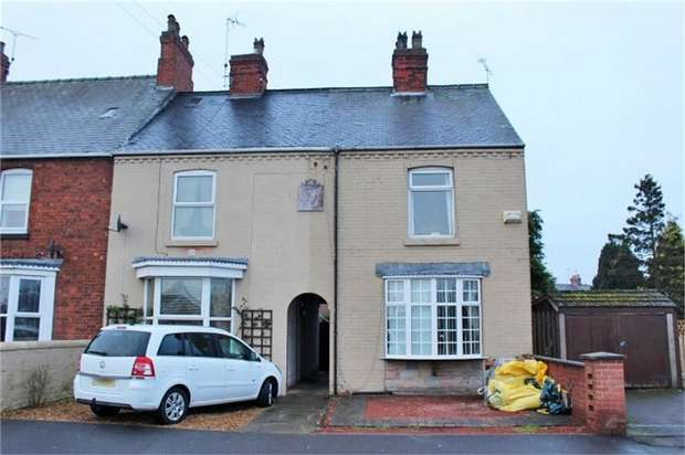 2 Bedrooms Terraced House for sale in West Carr Road, Retford, Nottinghamshire