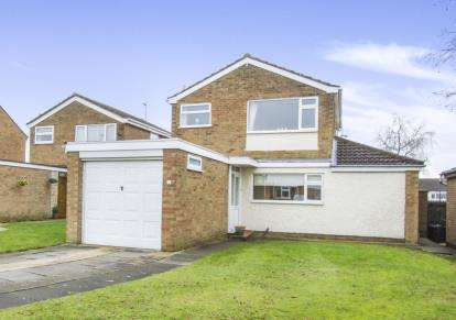 3 Bedrooms Detached House for sale in Barnstaple Close, Wigston, Leicester, Leicestershire
