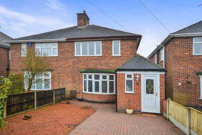 3 Bedrooms Semi Detached House for sale in Helmsley Road, Rainworth, Mansfield, Na