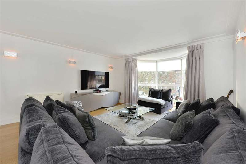 2 Bedrooms Flat for sale in Balmoral Court, London, NW8