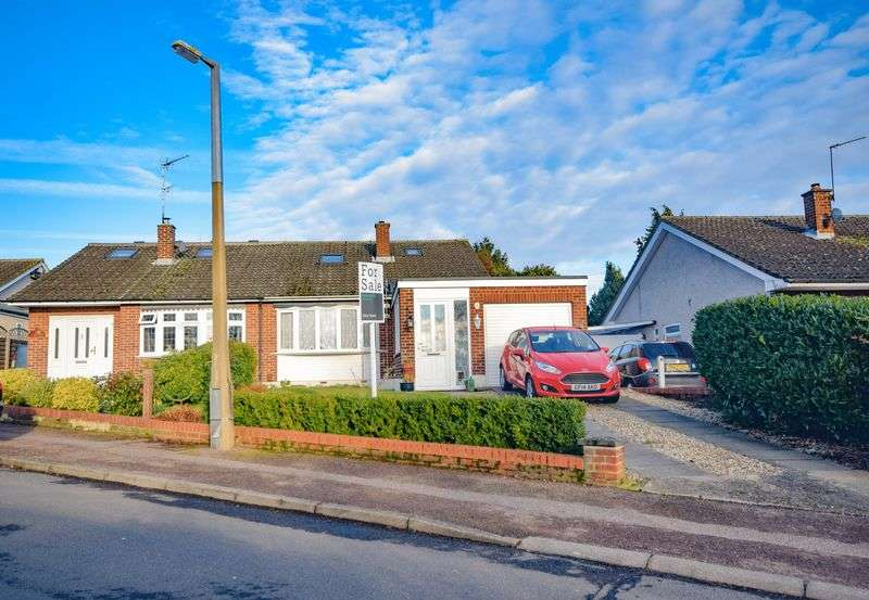 3 Bedrooms Semi Detached Bungalow for sale in Heath Drive, Ware
