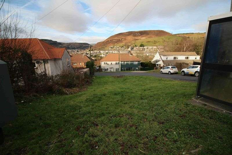 Land Commercial for sale in Land at Junction of Broadfield Close & Vicarage Road, Tonypandy CF40 1SY