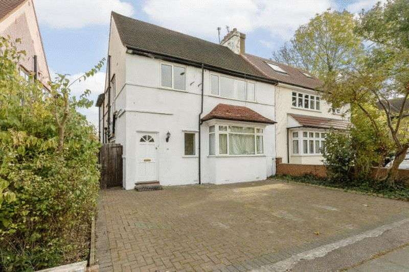 4 Bedrooms Semi Detached House for sale in Forty Avenue, Wembley