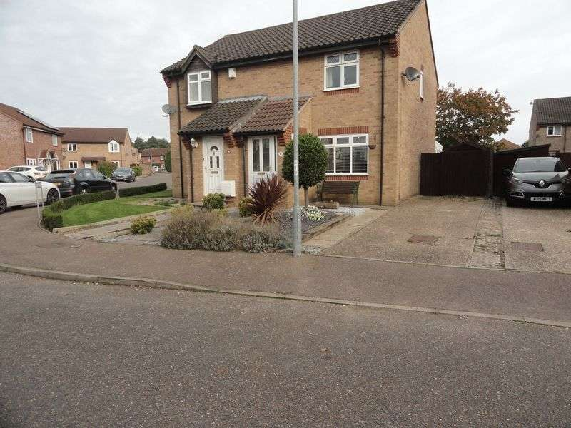3 Bedrooms Semi Detached House for sale in Pyehurn Mews, Taverham, Norwich