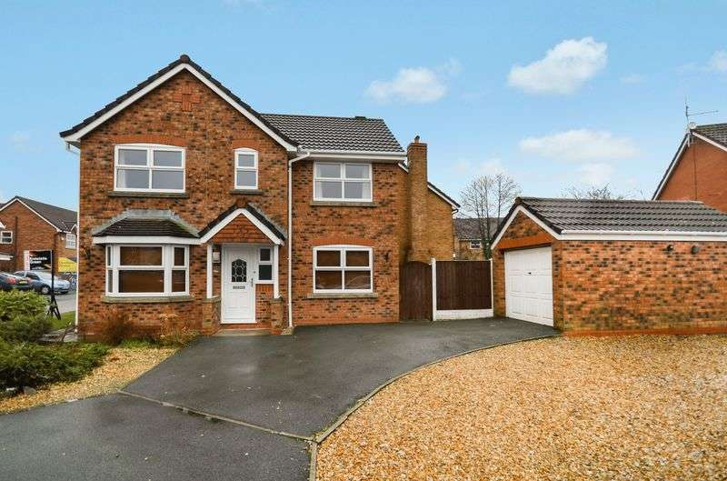 3 Bedrooms Detached House for sale in 3 Jeffrey Hill Close, Grimsargh, Preston, PR2 5BS