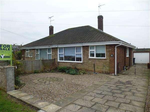 2 Bedrooms Semi Detached Bungalow for sale in Heath Moor Drive, Fulford, York