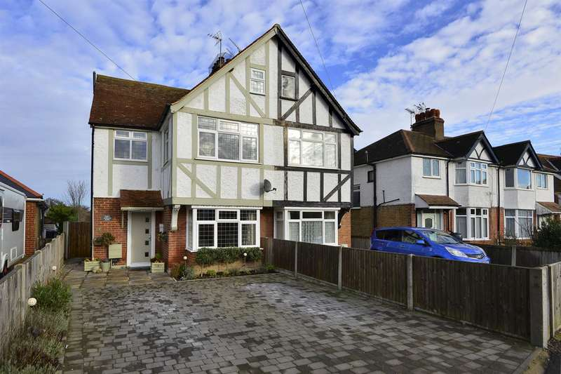 3 Bedrooms Semi Detached House for sale in Gordon Road, Whitstable