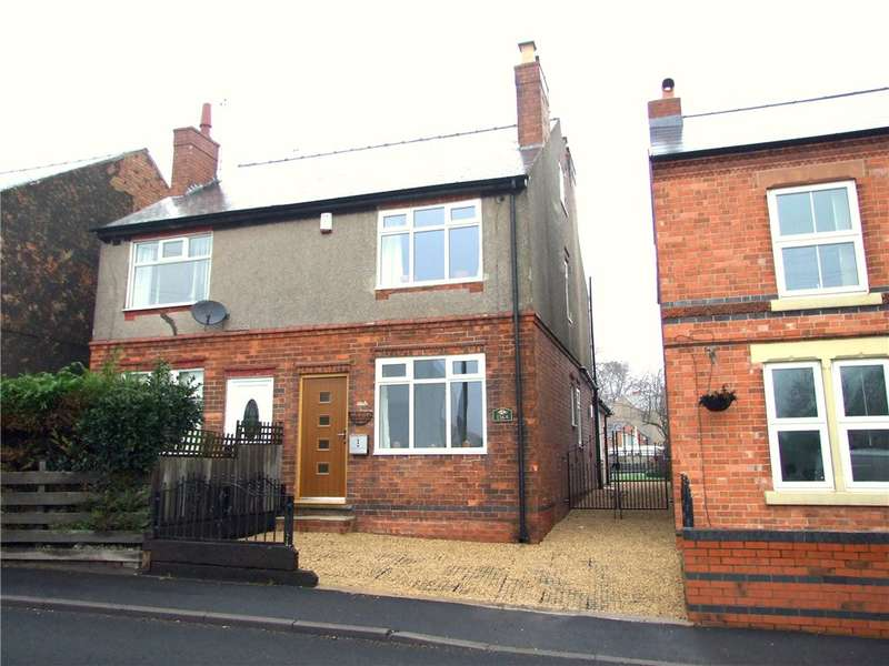 4 Bedrooms Semi Detached House for sale in Town Street, Pinxton, Nottingham, Nottinghamshire, NG16