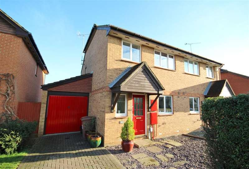 3 Bedrooms Semi Detached House for sale in Broad Hinton, Twyford, Reading, RG10