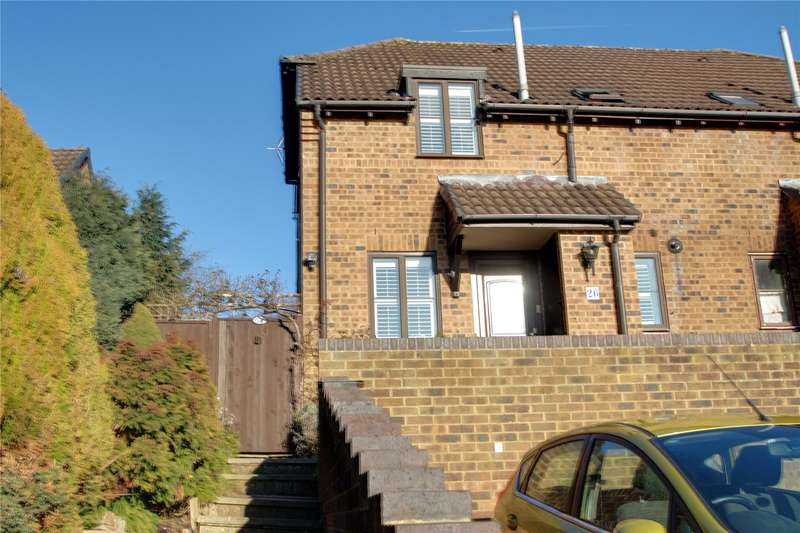 1 Bedroom End Of Terrace House for sale in Blackthorn Drive, Lightwater, Surrey, GU18