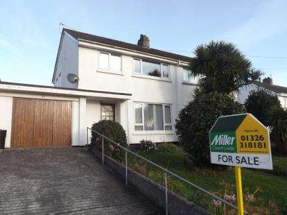 3 Bedrooms Semi Detached House for sale in Falmouth, Cornwall, .