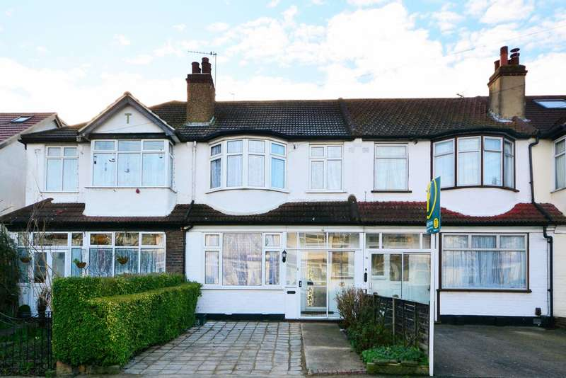 3 Bedrooms Terraced House for sale in Ladywood Road, Tolworth, KT6