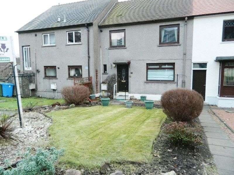 2 Bedrooms Terraced House for sale in 37 CHAPELLE CRESCENT TILLICOULTRY FK13 6N1