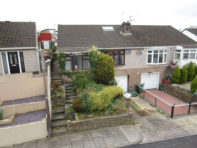 4 Bedrooms Semi Detached Bungalow for sale in 4 Rhyd Y Nant, Pontyclun, CF72 9HE