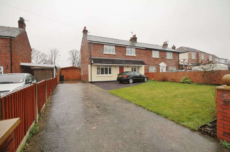 3 Bedrooms Semi Detached House for sale in 73 Chain Lane, Staining, FY3 0DB