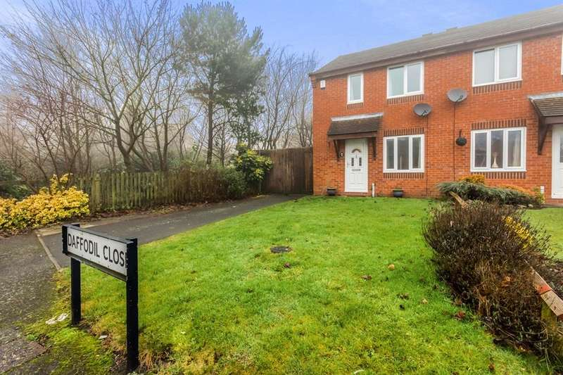 2 Bedrooms Semi Detached House for sale in Daffodil Close, DUDLEY, DY3