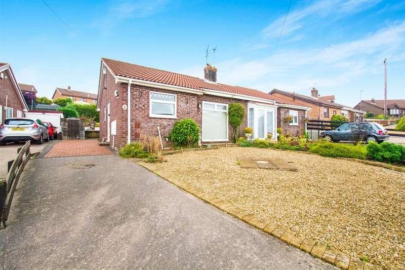 2 Bedrooms Semi Detached Bungalow for sale in Raglan Close, Blackwood