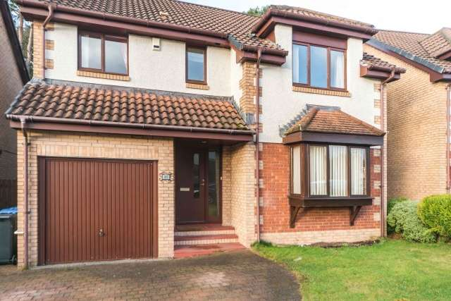 4 Bedrooms Detached House for sale in Lady Place, Livingston, West Lothian, EH54 6TB