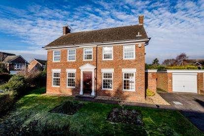 4 Bedrooms Detached House for sale in Ison Close, Biddenham, Bedford, Bedfordshire