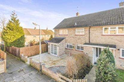 3 Bedrooms End Of Terrace House for sale in Pankhurst Crescent, Stevenage, Hertfordshire, England