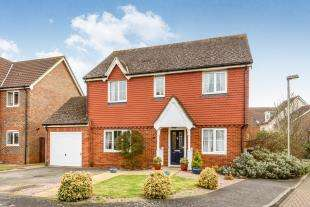 4 Bedrooms Detached House for sale in Galloway Drive, Kennington, Ashford, Kent