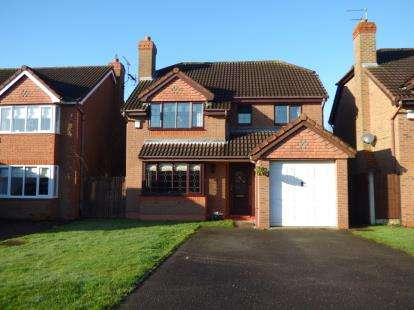 4 Bedrooms Detached House for sale in Mulberry Way, Hilton, Derby, Derbyshire
