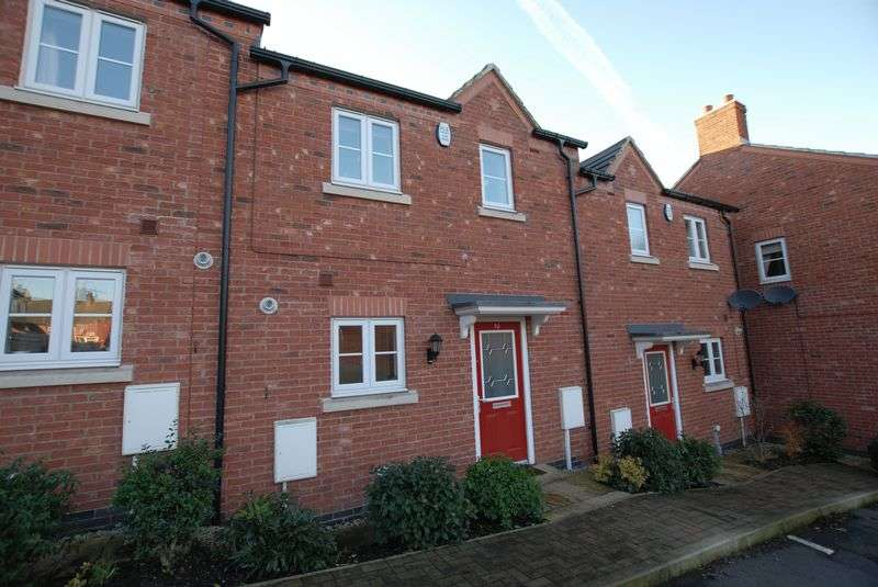 3 Bedrooms Terraced House for sale in Laurel Grove, Uttoxeter